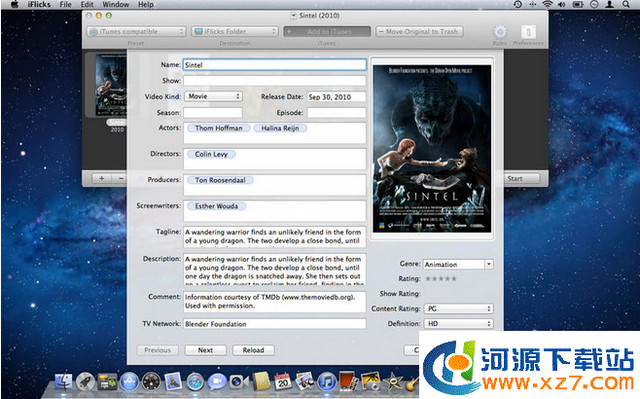 iFlicks for Mac 1.4.9 官方版