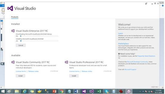 Visual Studio Test Professional 2017 RC 官方免费绿色版