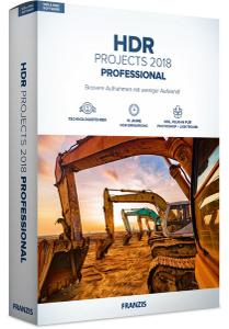 Franzis HDR projects 2018 pro Mac破解版