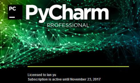 pycharm2017软件