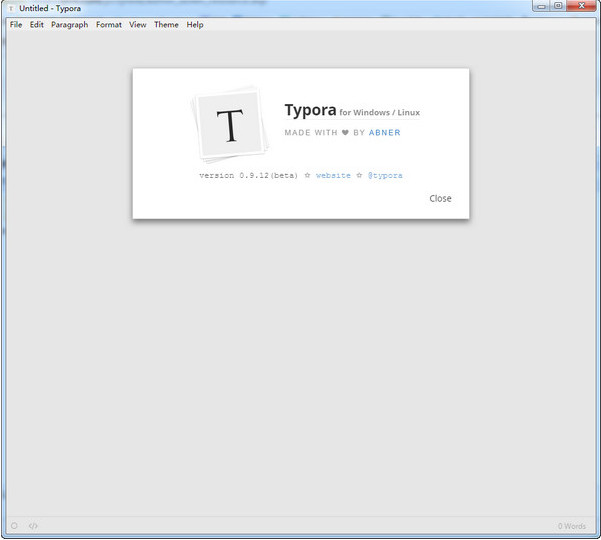 Typora windows 0.9.49 官方64位版