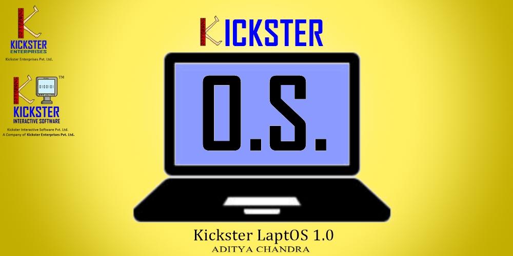 Kickster LaptOS v1.0(linux的x86_64(64位)操作系统)