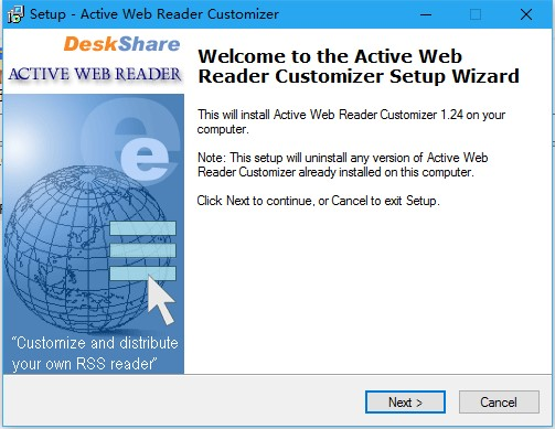 Active Web Reader Customizer 1.24