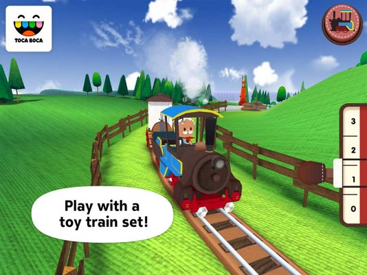 托卡火车中文版(toca train) v1.0.7 安卓免费版