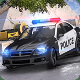 警察漂移�{�模�M器手游 v1.1 安卓版