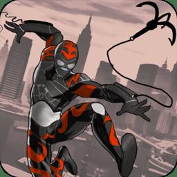 绳索英雄1中文破解版(rope hero)v2.1 安卓版