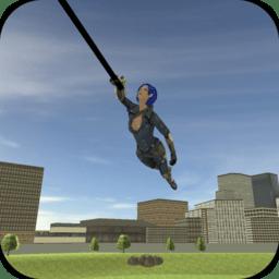 超级绳索女英雄无敌版 v1.1 安卓免费版