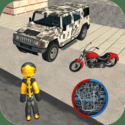 火柴人绳索英雄迈阿密正式版v1.0 安卓版