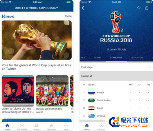 2018 FIFA World Cup Russia 安卓版 v1.0