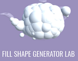 Fill Shape Generator Lab(3D建模自动填充工具)