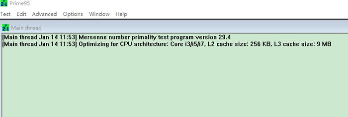 prime95 64位免安装版 v29.4 绿色版