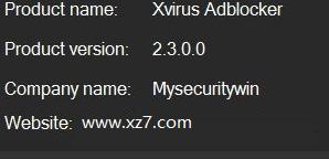 xvirus adblocker官方版