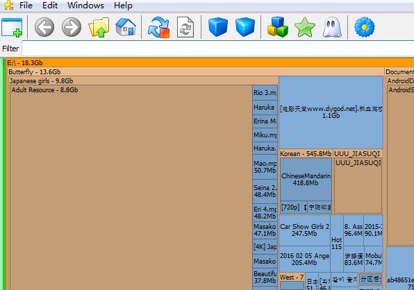 spacesniffer中文版