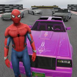 蜘蛛侠驾驶赛车正版