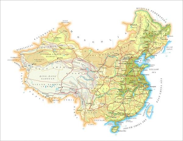 中国地图全图高清版 可放大版(含全图各省各市)