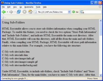 HTML to EXE Converter(HTML转EXE) v4.9.4 英文绿色免费版