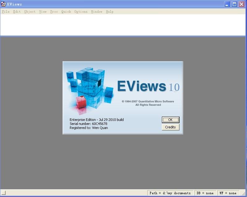 eviews最新版 v10.0 正式版
