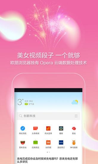 欧朋浏览器ios版 v12 iphone版