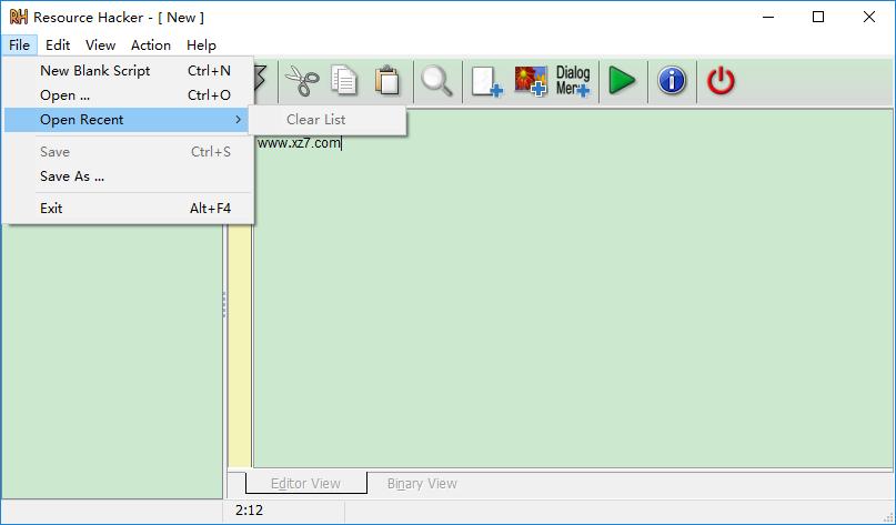 reshacker.exe v5.0 官方正式版