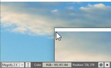 桌面放大镜Magnifixer v6.3 绿色版