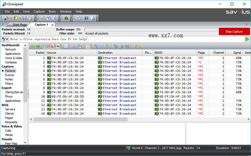 omnipeek破解版 v7.9.1 免费版