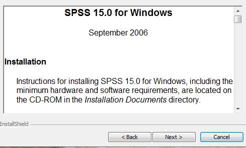 spss15.0汉化版