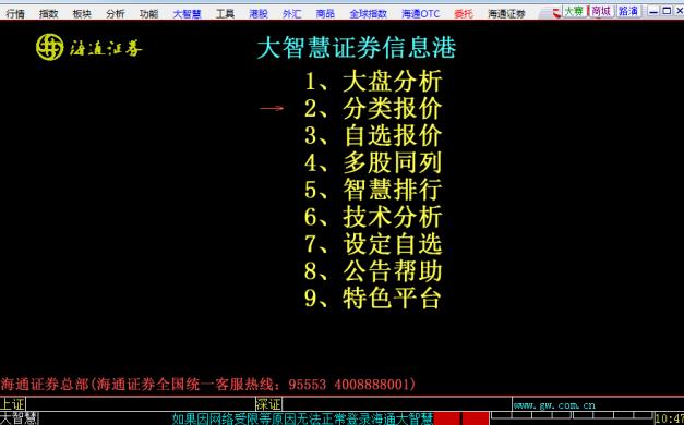 海通大智慧2008软件