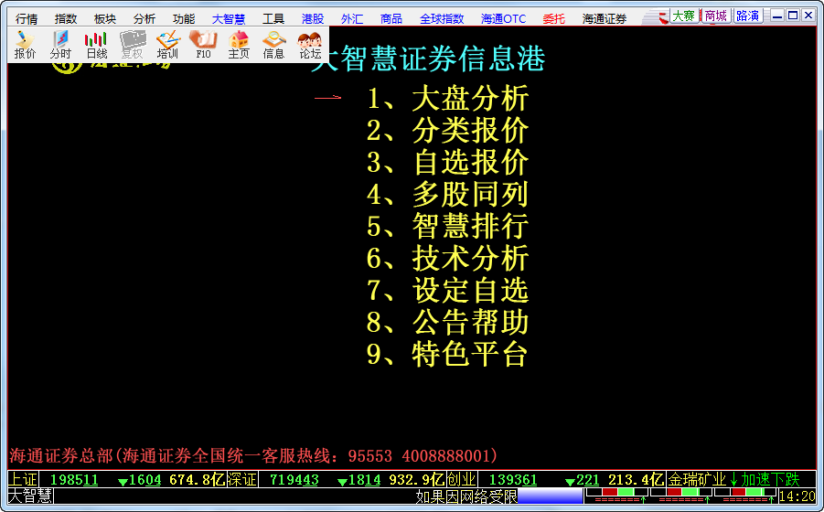 海通大智慧2008专业版 官方版