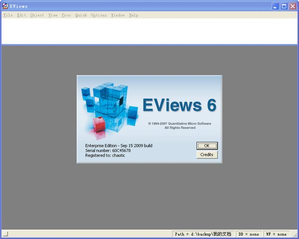 eviews6.0官方版