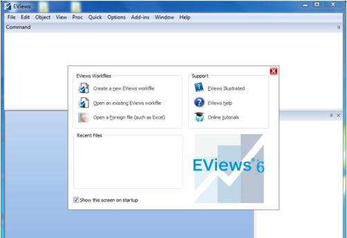 eviews6.0中文版 v6.0 汉化版