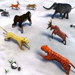 动物王国战争模拟器3d破解版 v2.2 安卓版