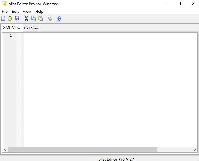 plist编辑器最新版 v2.1 windows版