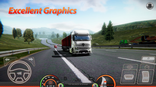 卡车模拟器欧洲2破解版 v0.22 安卓版