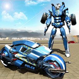 摩托机器人英雄无限金币版