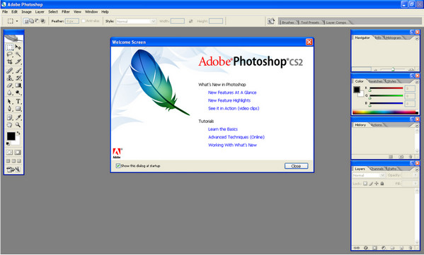 adobe photoshop cs2完整版 v9.0 中文版