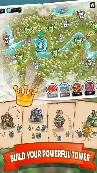 王国保卫战英雄传说汉化版 v1.1.3 安卓版