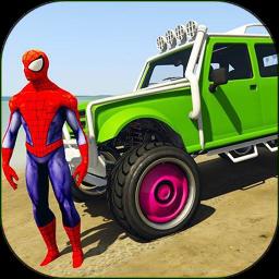 超级英雄特技越野车游戏v12 安卓版