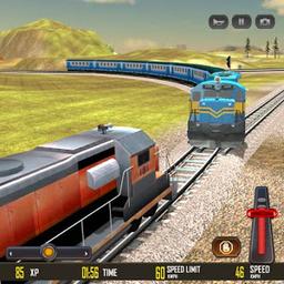 火�比�手�C客�舳�(train race 3d)v0.6 安卓版