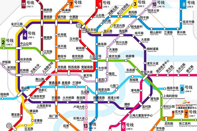 上海�道交通地�D高清版 大�D