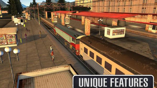 驾驶火车模拟器无限金币版 v1.5.1 安卓版