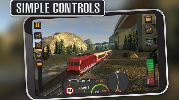 驾驶火车模拟器破解版