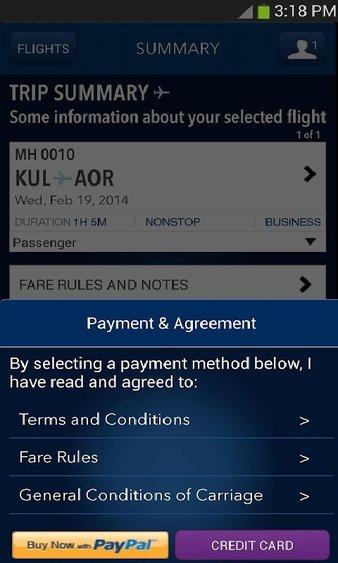 马来西亚航空客户端 v1.0.26 安卓版