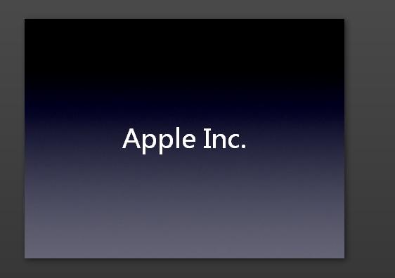 苹果发布会ppt