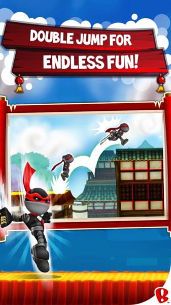 忍者跳跃屋顶狂奔内购破解版 v1.1.0 安卓中文版
