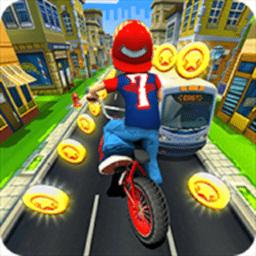 自行车跑酷单机版