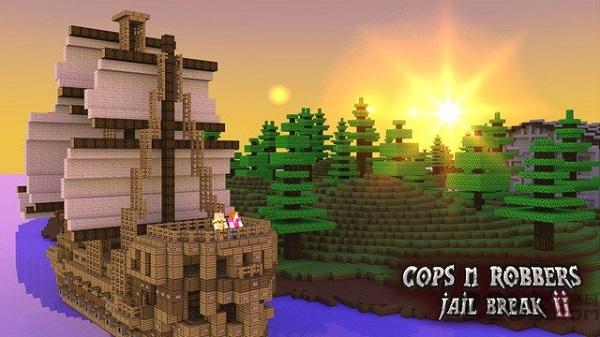 警察与强盗越狱2中文版(cops n robbers2) v1.0.1 安卓版
