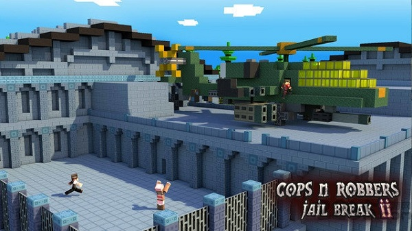 警察与强盗越狱2游戏