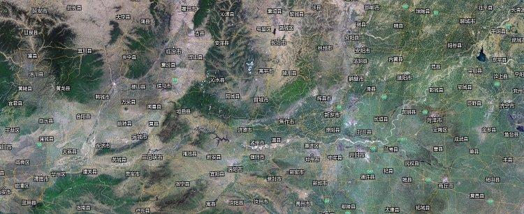 河南卫星地图高清2019 大图