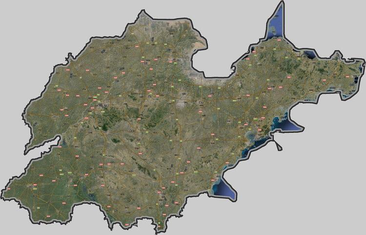 山东卫星地图谷歌2019 大图