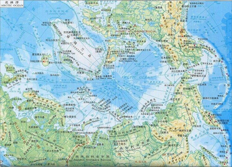 北冰洋地�D全�D高清版 免�M版